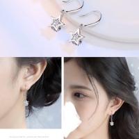925純銀防敏感耳環 1